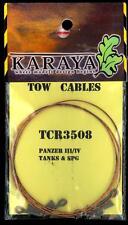 Karaya Models 1/35 METAL TOW CABLES Panzer III Panzer IV & SPGs