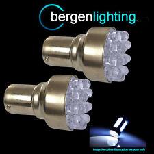 382 1156 BA15S 245 BIANCO 12 LED a Cupola Anteriore Indicatore Lampadine HID fi200201