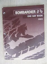 2001 Bombardier ATV One Day Book Manual Performance Troubleshooting Tools  L