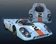 1969 Porsche 917K Group 6  WSC Le Mans Vintage Classic Race Car Photo CA-1111