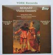 TV 34186S - MOZART - Violin Concertos No 4 & 5 PAUK / FAERBEDR - Ex LP Record