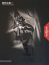 Surefire Gun Weapon 2016 Catalog Booklet Tactical Illumination Flashlights NEW