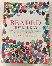 SALE! Beaded Jewellery - Maya Brenner - Dorling Kindersley - Softback
