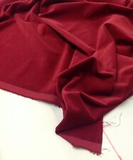 Curtain Velvet  by Truly Sumptuous- Claret Red - 140 cams - 330gsm