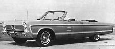 1966 Plymouth Sport Fury Convertible Factory Photo J4897