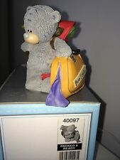 "LARGE 8cm 3.5"" HIGH BOXED ME TO YOU FIGURINE TATTY TEDDY BEAR ~ PACKED & READY"
