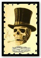 DRUG POSTER Skull Smoking