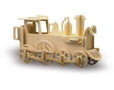 Holzbausatz Lokomotive / Sperrholzplatten vorgestanzt