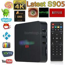 XBMC Kodi WIFI QUAD CORE 4K HD Android5.1 Smart TV BOX 8GB Fully Loaded Streamer