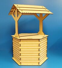 Wishing Well wedding table display , MDf Unpainted kit
