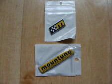 Ford Fiesta ST  Badges Pair  NEW