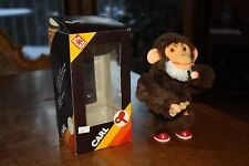 German Mechanical Drinking Monkey Windup Toy Old Vintage Collectors Item