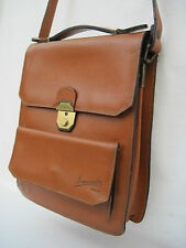 -AUTHENTIQUE  sac à main type sacoche  LANCASTER  cuir  TBEG   bag
