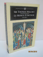 Le Morte D'Arthur Volume 1 by Thomas Malory