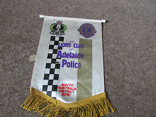 ADELAIDE Police District 201s1 AUSTRALIA  Lions Club International PENNANT
