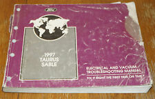 1997 Ford Taurus Factory Electrical Wiring Diagrams Service Manual EVTM 50149