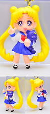 SAILOR MOON SWING 4 MASCOT KEYCHAIN PORTACHIAVI/CELL STRAP: SAILOR MOON + LUNA