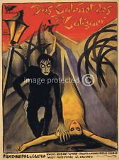 The Cabinet Of Dr Caligari Vintage Movie Poster  18x24
