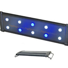 "EVO 18"" LED Aquarium Light Nano Marine Coral Reef Cichlid Lunar 45 cm 10x 3 Watt"