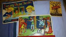 Vintage Advance Games Co. USA 1945 Little Red Riding Hood Nursery Rhyme Theater