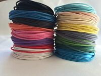 Waxed Cotton Cord/Thong 1mm Various Colours and Lengths Available
