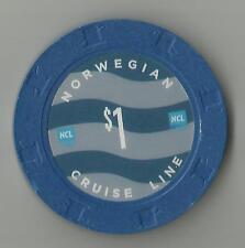 NCL...  $1.00 Casino Chip...  ms NORWEGIAN SKY... cruise ship