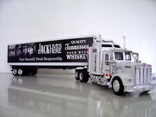 KENWORTH W900 Semi Truck Diecast 1:43 Scale Jack Daniel's (P) Custom Graphics