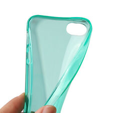 New Gel Silicone Back Case Cover for Apple iPhone 4s 5s SE Protector Soft