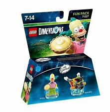 Lego Dimensions - The Simpsons - Krusty Fun Pack BRAND NEW SEALED