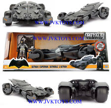 Batman Vs Superman Batmobile Diecast Batman Figure 1/24 Scale By Jada 98034