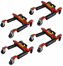 4 x 1500lb Hydraulic Wheel Dolly Skates Car Vehicle Positioning Jack Tire Tyre