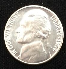 (1) 1964-D BU Jefferson Nickel Uncirculated from Original Roll Nice 5 Cent Coin!