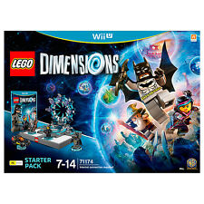 NEW LEGO Dimensions Starter Pack 71174 - Wii U Age: 7 - 14