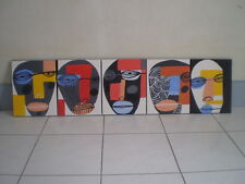 5 pcs. Frame  Modern Wall Home Decor Art  Painting On Canvas Abstract 24x30cm.