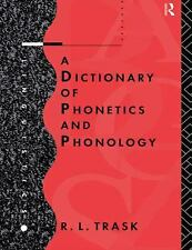 A Dictionary of Phonetics and Phonology (Linguistics), Trask, R.L., Acceptable B