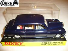 DINKY 152 ROLLS ROYCE PHANTOM V LIMOUSINE - EXCELLENT in original BOX