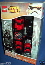 LEGO 8020301 ~STAR WARS Darth Vader Watch with minifigure Sold Out ~ NEW