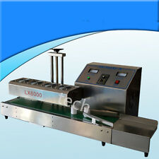 Aluminum foil bottle continuous induction sealing machine,Max 160 bottles/min