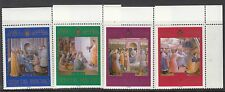VATICAN :2003 Paintings from the Niccolina Chapel SG1388-91 never hinged mint