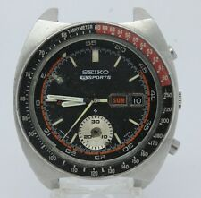 VINTAGE Seiko 5 Sports Chronograph Speed Timer 6139-6032 Mens Watch PARTS REPAIR