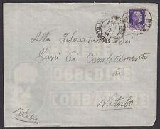 POSTA MILITARE 1941 Lettera da PM 68 a Viterbo (FMB)