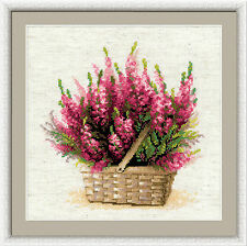 Riolis Counted Cross Stitch Kit - Scottish Heather - R1324 - Atlascraft