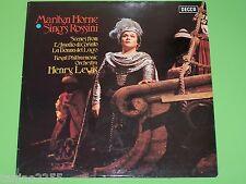 Marilyn Horne sings Rossini L'Assedio di Corinto - Henry Lewis - Decca UK LP