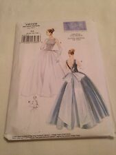 Vogue V8729 AA 6 8 10 12 Sewing Pattern Vintage 1956 Wedding Gown Dress Bridal