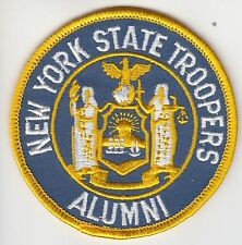 NEW YORK STATE TROOPERS ALUMNI POLICE PATCH NY
