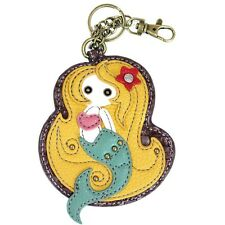 CHALA  Coin Purse - Key Fob Key Ring- MERMAID - Brand New