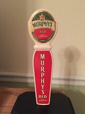 Murphy's Red Beer Tap Handle Imported Ceramic Rare