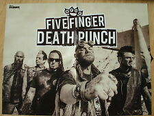 FIVE FINGER DEATH PUNCH  __  POSTER  __  SIZE 45 cm x 58 cm