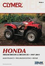 1997-2016 Honda TRX250 Recon Recon ES Clymer Repair Shop Manual 1998 1999 M4464