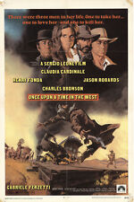 Once Upon a Time in the West 1969 Original Movie Poster Henry Fonda Western